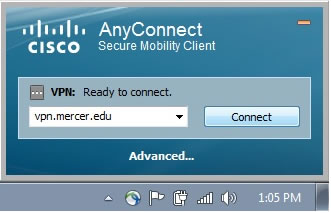 AnyConnect Login
