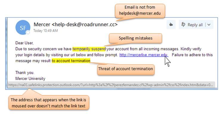 MU Information Technology - Phishing