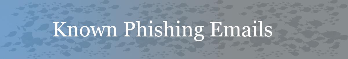 MU Information Technology Phishing