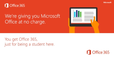 Microsoft Office is free for students!