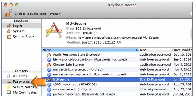 MU Information Technology - Wireless Troubleshooting Mac OSX